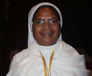 Sister Guilermina Marcal as the 2011 Peace Prize Winner