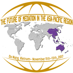 logo 8th Asia Pacific Mediation Forum conference in Vietnam, November 2017